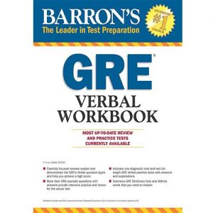 کتاب Barrons GRE Verbal Workbook