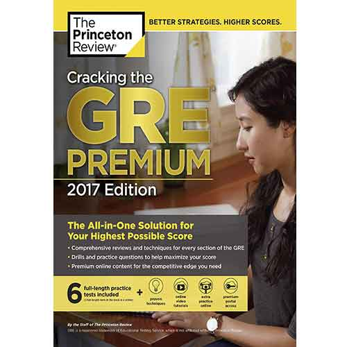 کتاب Cracking the GRE