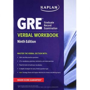 New GRE Verbal Workbook KAPLAN 9th