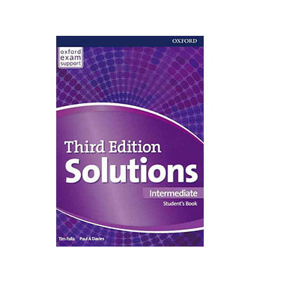 کتاب Solutions Intermediate
