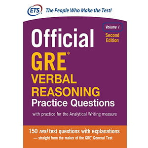 خرید کتاب Official GRE Verbal Reasoning Practice Questions