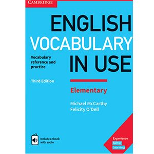 خرید کتاب English Vocabulary In use Elementary Third Edition