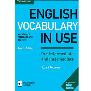 خرید کتاب English Vocabulary In use Pre-Intermediate and Intermediate Fourth Edition