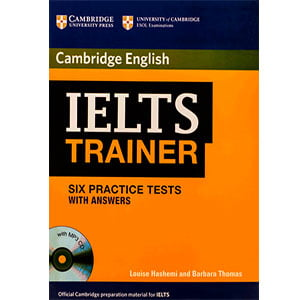 خرید کتاب IELTS Trainer Six Practice Tests with Answers