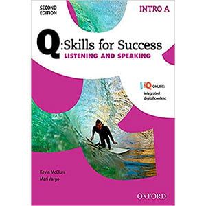 خرید کتاب Q Skills for Success Listening and Speaking Intro
