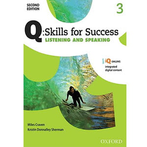 خرید کتاب Q Skills for Success Listening and Speaking 3 Second Edition