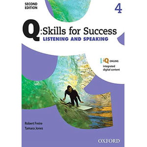 خرید کتاب Q Skills for Success Listening and Speaking 4 Second Edition