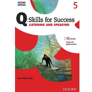 خرید کتاب Q Skills for Success Listening and Speaking 5 Second Edition
