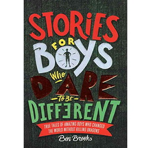 خرید کتاب زبان اصلی Stories for Boys Who Dare to be Different