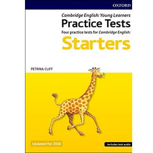 کتاب Cambridge English Qualifications Young Learners Practice Tests Pre A1 Starters Pack 2nd edition