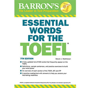 خرید کتاب Essential Words for TOEFL 7th Edition کتاب واژگان ضروری تافل