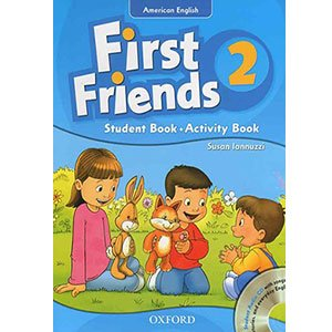 خرید کتاب First Friends 2 کتاب فرست فرندز 2