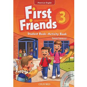 خرید کتاب First Friends 3 کتاب فرست فرندز 3