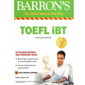 خرید کتاب Barrons TOEFL iBT 16th Edition