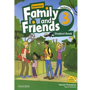خرید کتاب American Family and Friends 3 Second Edition
