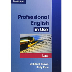 خرید کتاب Professional English in Use Law